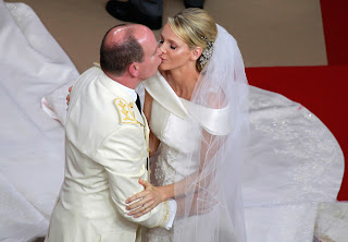 3 Charlene Wittstock & Príncipe Albert de Mônaco