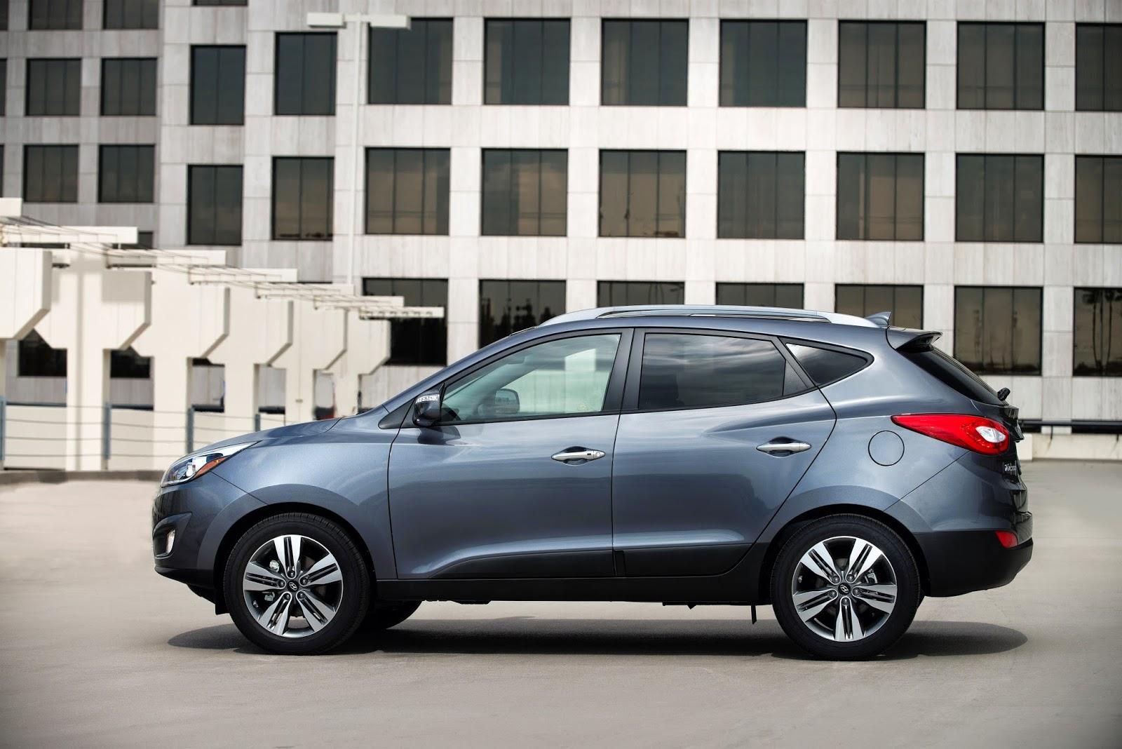 2014 Hyundai Tucson side view