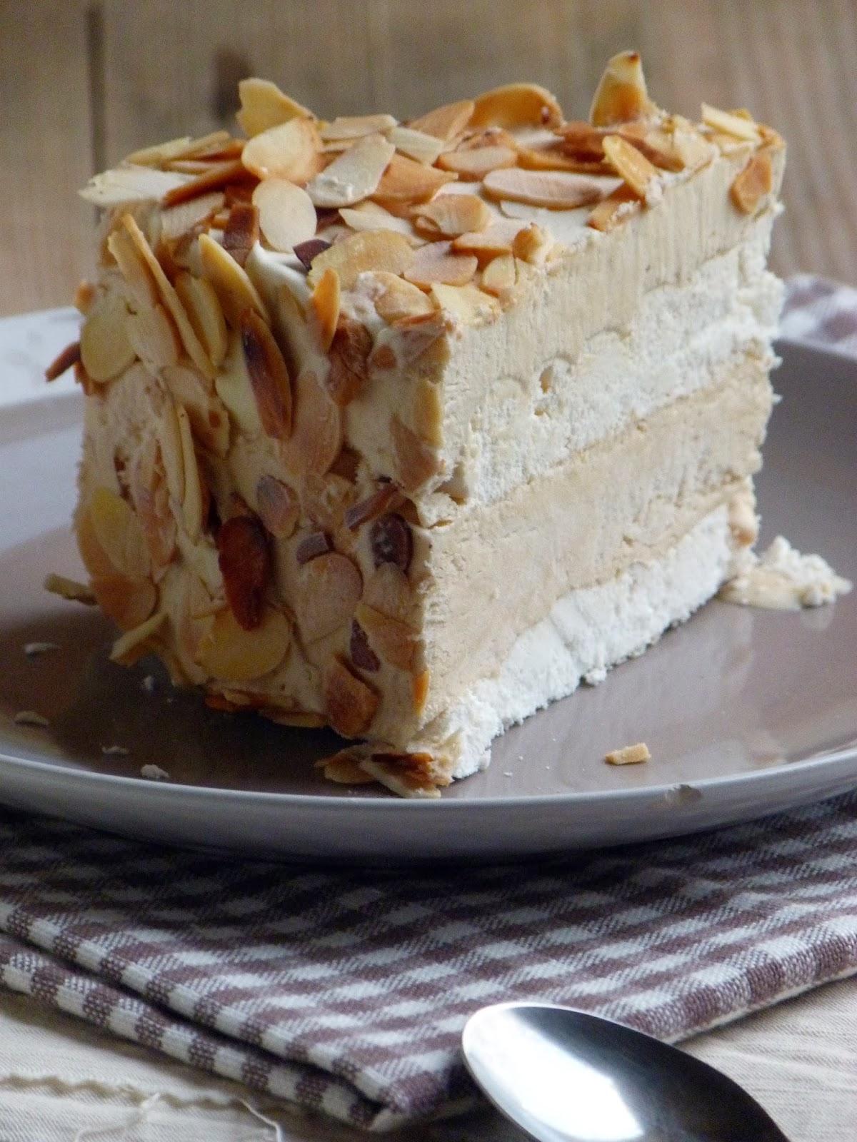 Chanteclair Toulonnais gâteau glacé meringue et café {sans sorbetière}
