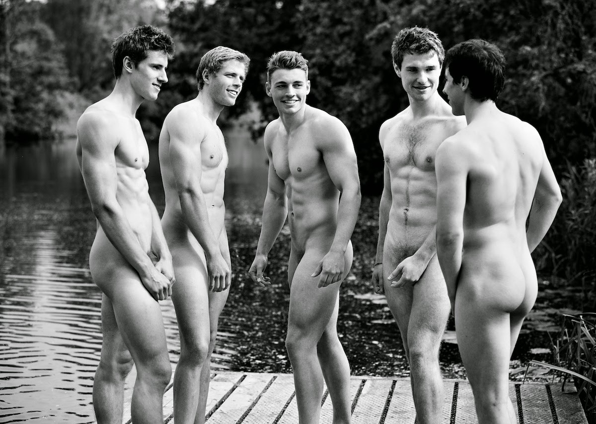 charity Swim team nude calendar