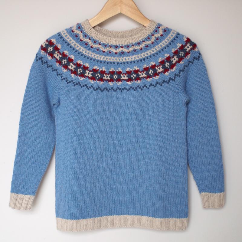 juliabe fair isle sweater. Black Bedroom Furniture Sets. Home Design Ideas