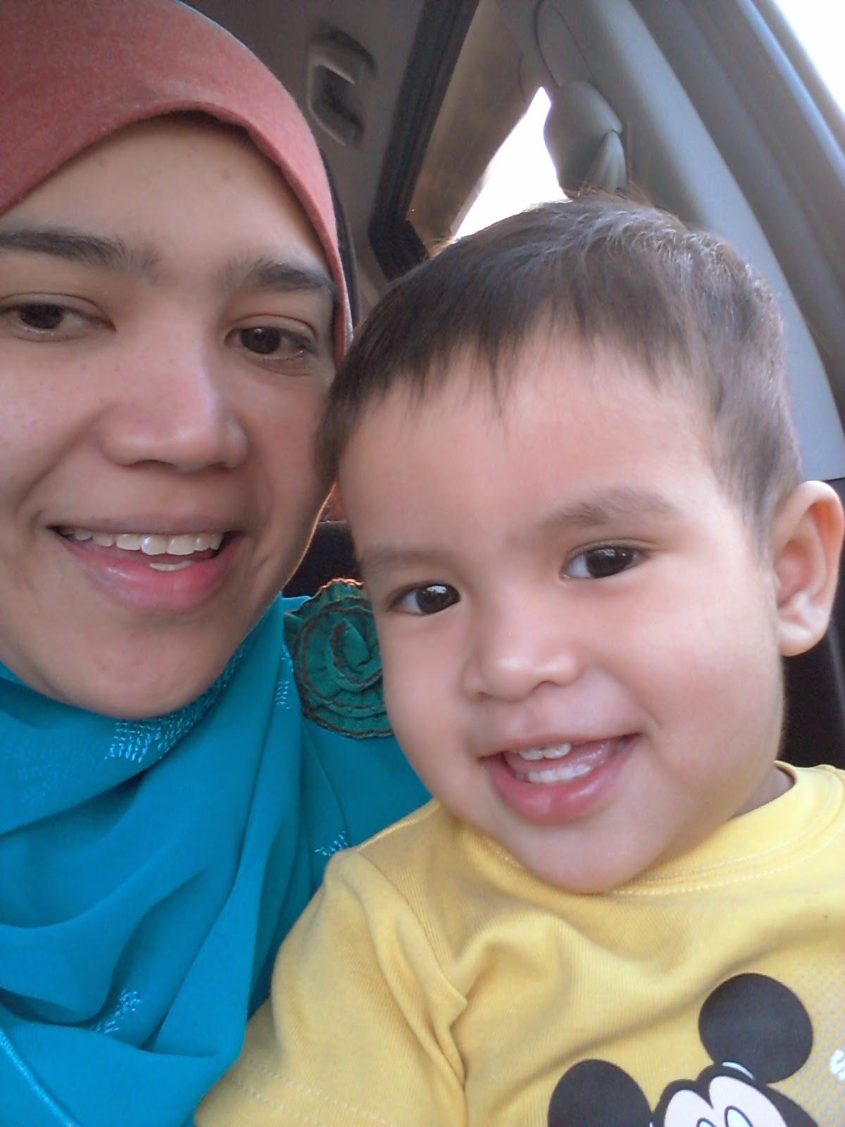Mummy and Mikhail