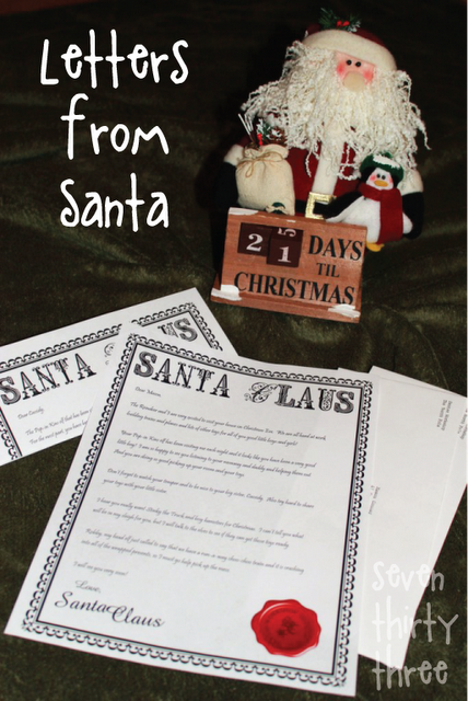 christhingsss letters to santa and more