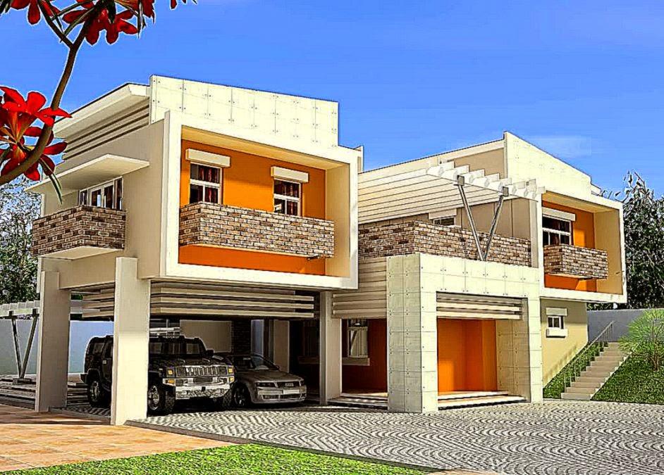 Warna Rumah Minimalis Moderen menyerupai warna rumah minimalis