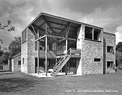Casa residencial de estilo Moderno inglesa en Cambridge años 1965 - 67