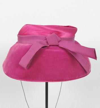 Vintage 1950's Pink Hat