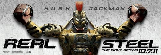 Real Steel Midas robot poster