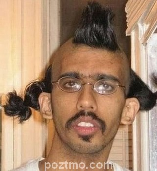 gaya rambut pria lucu