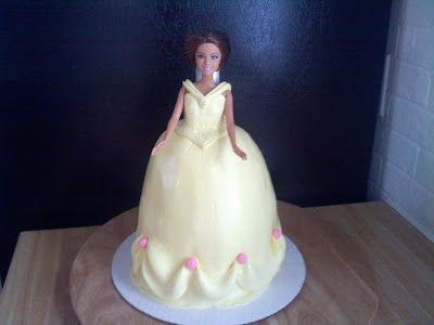 Pinky Promise Cakes belle doll cake