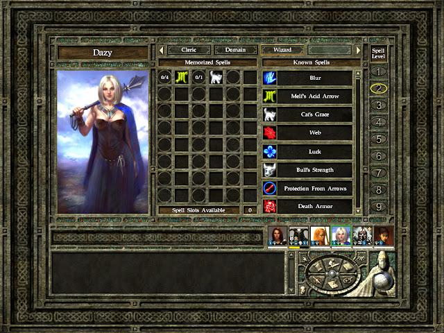 Icewind Dale 2 - Best Second Level Spells Description
