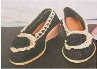 Sepatu Rajutan (EL Tinggi)