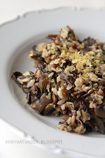 three_rice_mushroom_risotto