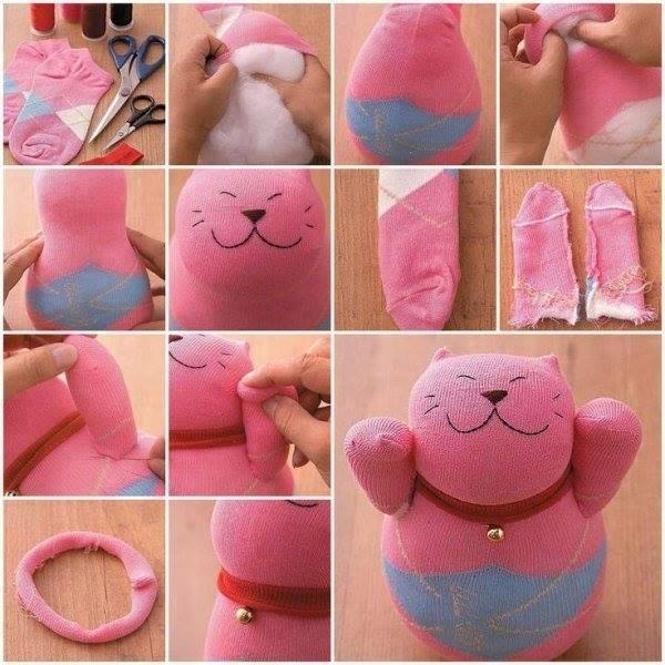 Сделать мягкие игрушку своими руками