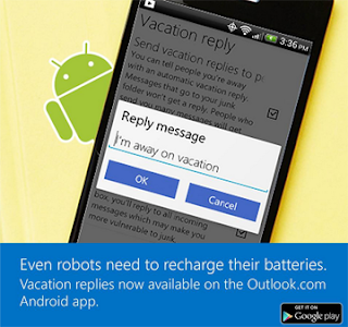 nueva actualizacion outlook app Android