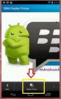 Cara Mengganti Foto Profil BBM Android