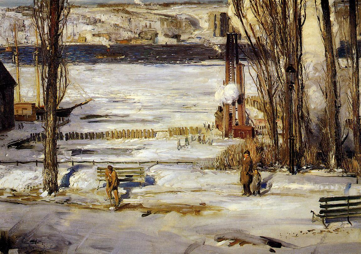 File:George Bellows The Palisades.jpg - Wikimedia Commons