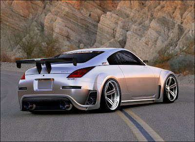 nissan 350z modified