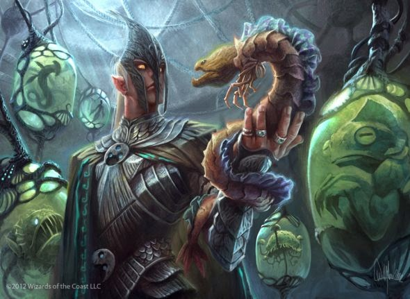 Will Murai illustrations fantasy mythology card games