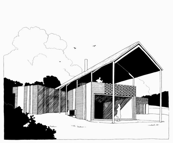 arquitectures234: Eugeni Bach: u0026quot;5 casesu0026quot; [edicle de fusta II]