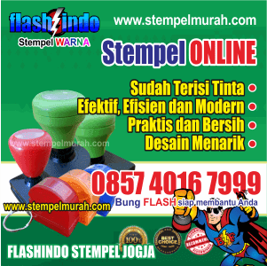 Kontak Pemesanan Stempel Murah Flashindo