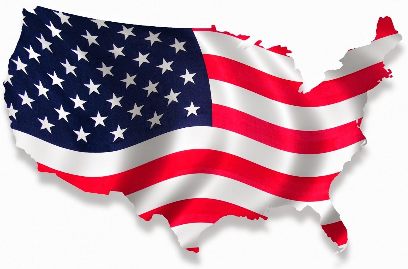 visto americano: passo a passo - Bandeira dos EUA