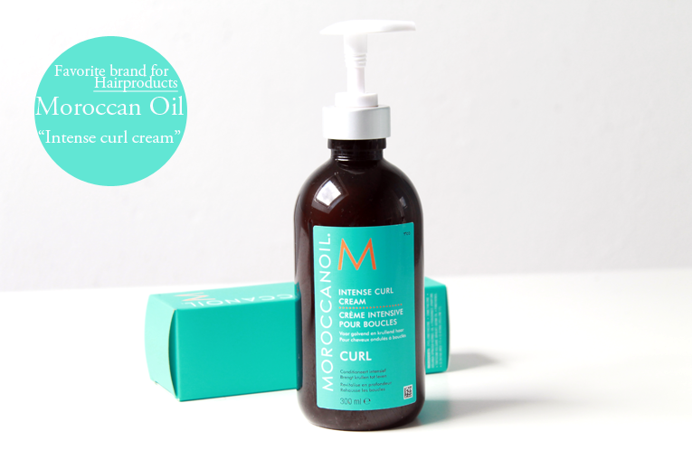 "New in: Moroccanoil ""Intense Curl Cream"""