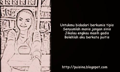 "Puisi Bidadari Berkumis Tipis edisi ""Arjuna Linglung"""
