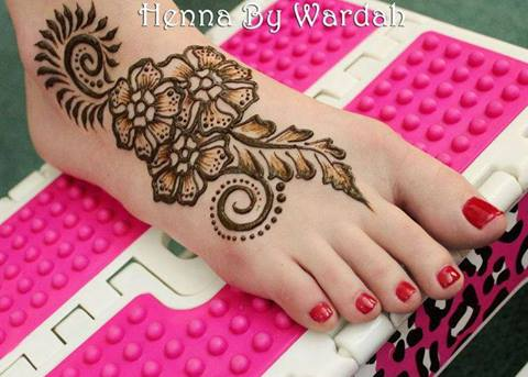Mehndi Patterns For Legs : Simple mehandi designs for hands and legs arabic bridal atoz