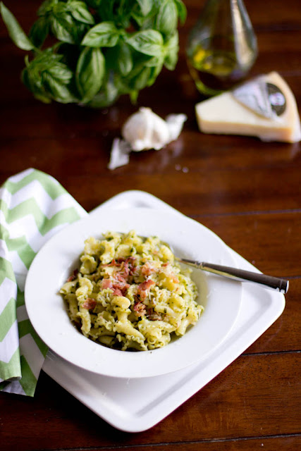 This 15 minute pesto pasta is one of our all time favorite dinners, especially during summer to use up all of that basil!