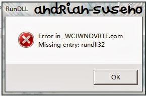 Cara Membuka Flashdisk Terkena Virus Shortcut yang hanya ada Tulisan RunDLLL dengan bantuan CMD