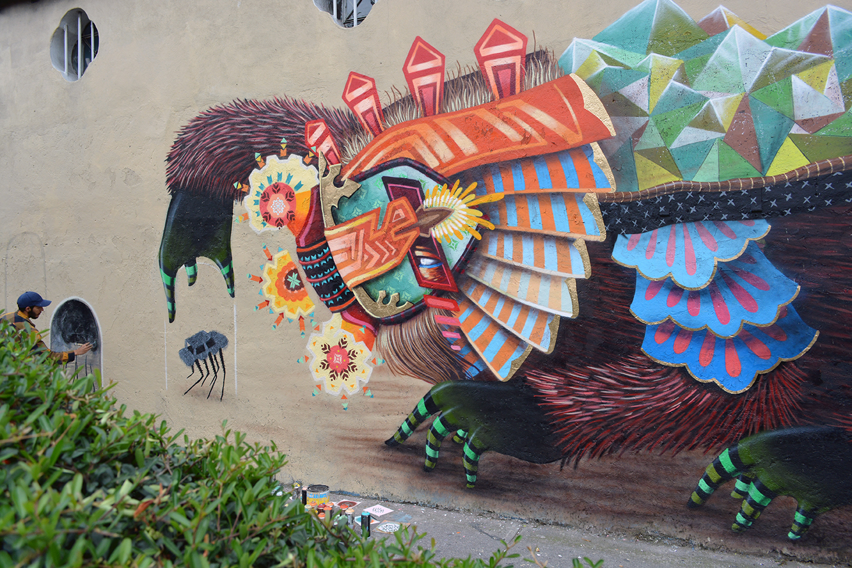 curiot new mural in mexico city mexico streetartnews streetartnews
