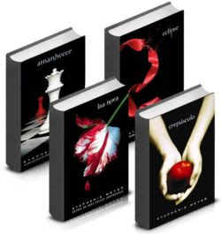 Livros Saga Crepúsculo