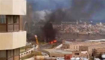 Libya Tripoli Hotel ISIS attack