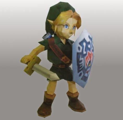 PAPERMAU: The Legend of Zelda: Majora's Mask - Link Paper