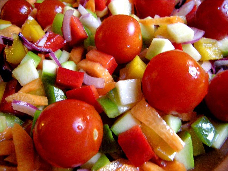 Puerto cangrejo ensalada fresca bajas calor as - Calorias boquerones en vinagre ...