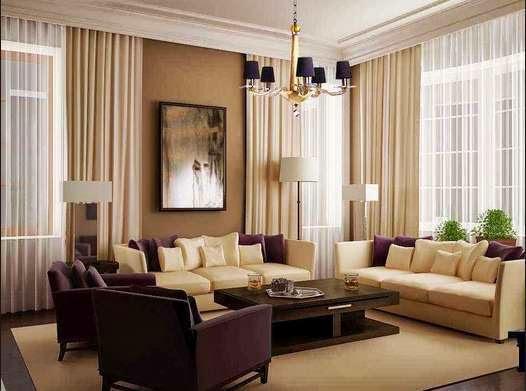 Desain ruang keluarga minimalis 1