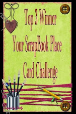 Top 3 Your Scrapbook Place Challenge