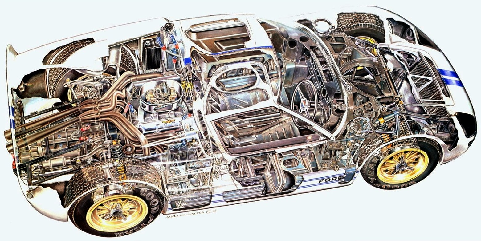 for kaycog - 1966 Ford Gt40 Engine