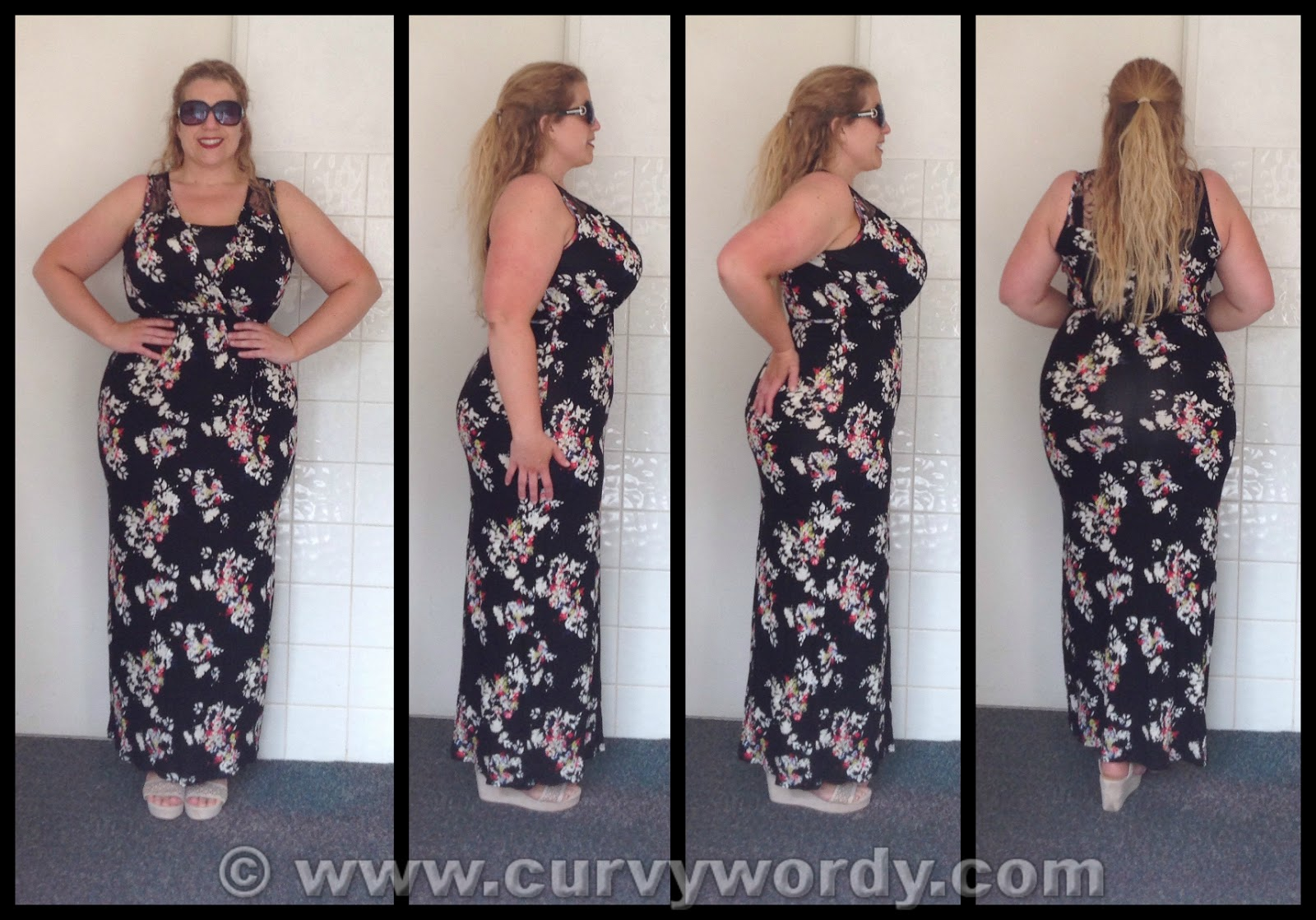 George floral maxi dress dress blog edin for George at asda wedding dresses