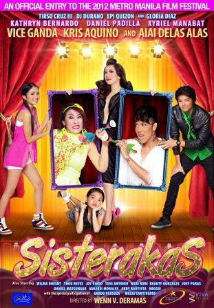 'Sisterakas' Official Movie Poster