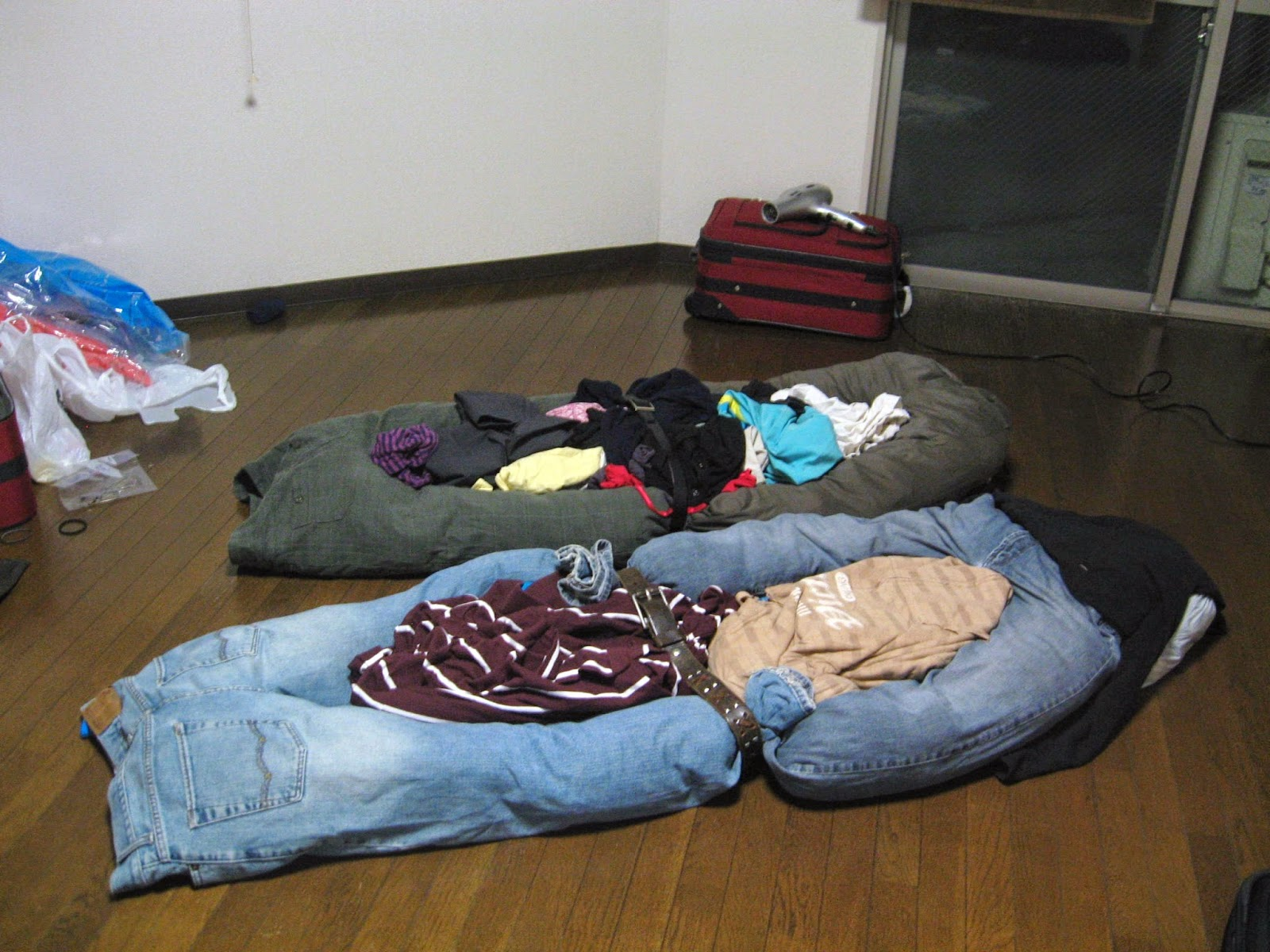 Ben and Kailey's Homemade Bed - Doshisha Exchange