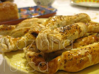 Folhados de Feta (Şeker Börek)