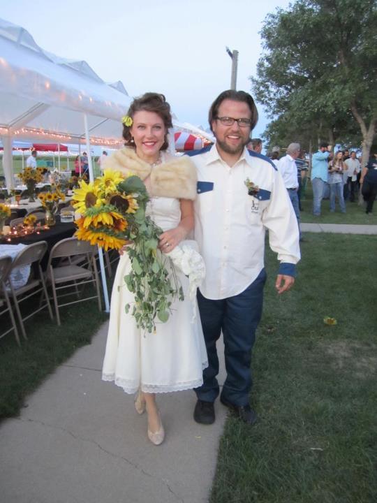 Olden day wedding
