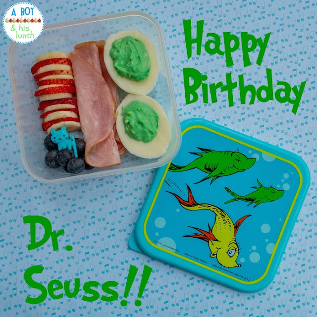Just a Little Seuss-y Bento