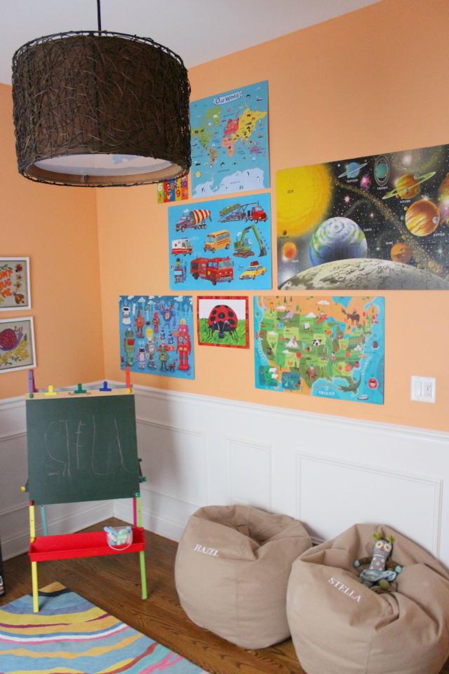 Playroom Reveal Design Improvised