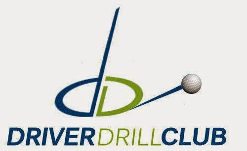 gravity golf driver drill club logo