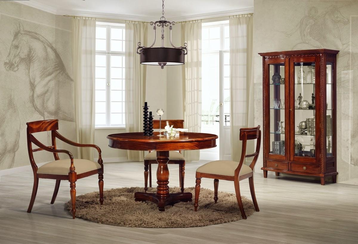 El blog de demarques muebles clasicos de caoba de keen - Comedores clasicos ...