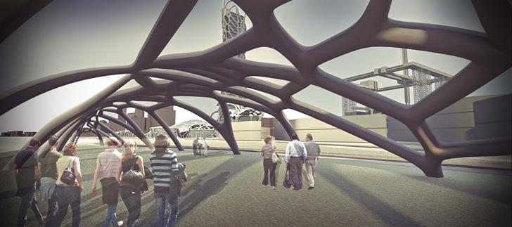 3D Printed Building pavilion
