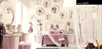 dormitorio de jirafas rosa