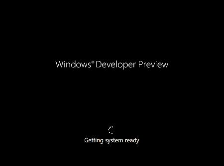 Pengaturan Proses Install Windows 8